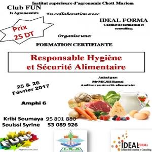"""Formation:L'ISA-CM et Club """"FUN Is Agronomist"""" en collaboration avec IDEAL FORMA"""