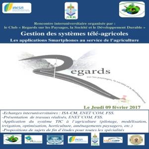 Rencontre interuniversitaire organisée par : le Club « Regards sur les Paysages, la Société et le Développement Durable »