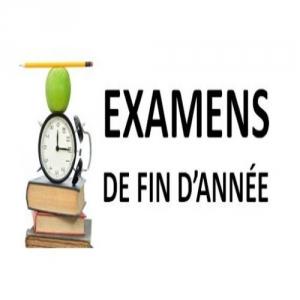 PLANIFICATION des Examens  Session Contrôle pour LMD