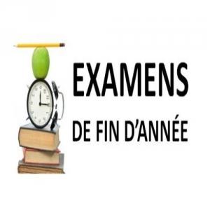 Planification des Examens Session Contrôle Pour les Ingénieurs